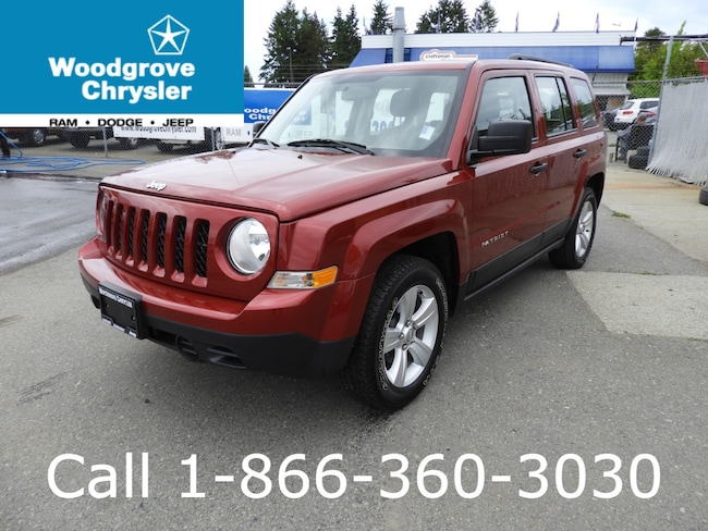 2017 Jeep Patriot Sport FWD Bluetooth Air Conditioning Automatic SUV