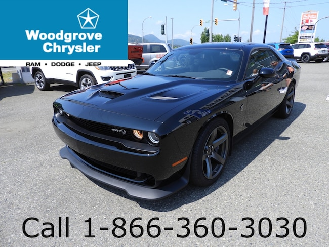 2018 Dodge Challenger SRT Hellcat Navigation Low Kilometres Coupe