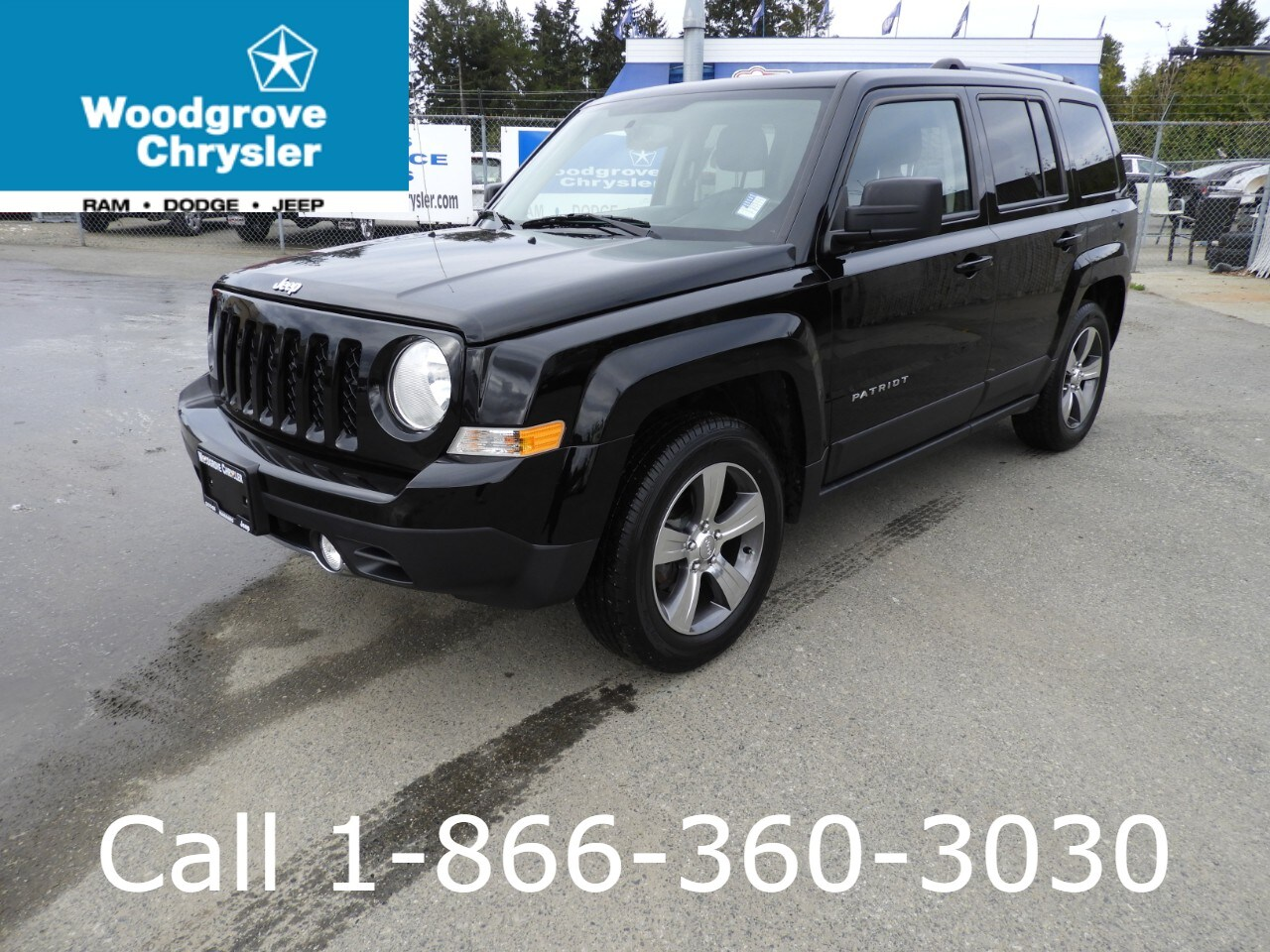 2017 Jeep Patriot High Altitude FWD Leather Sunroof Bluetooth SUV