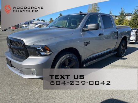 2021 Ram 1500 Classic Night Edition 4x4 Crew Cab for sale in Nanaimo Northwest, BC