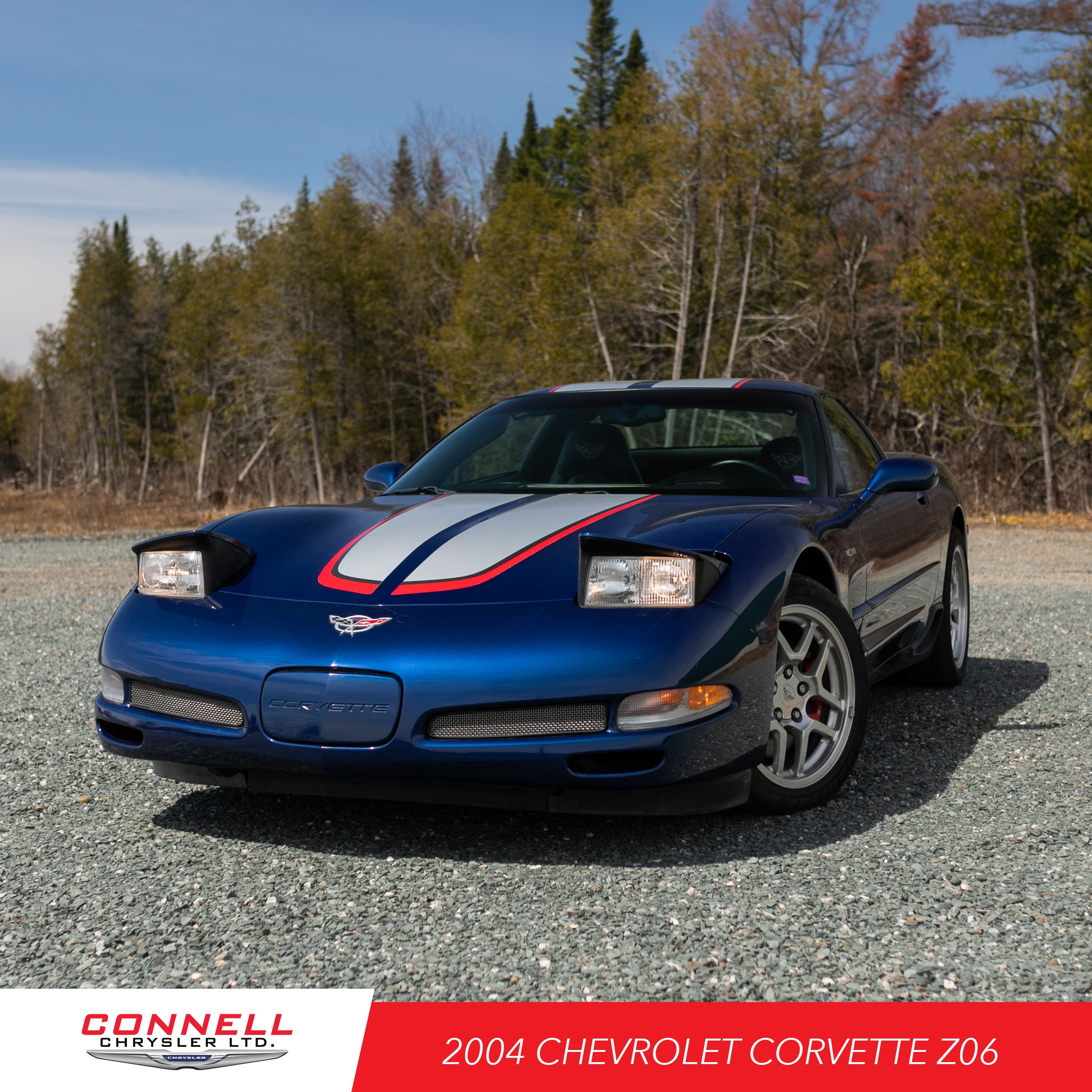 2004 Chevrolet Corvette Z06 Hardtop Coupe
