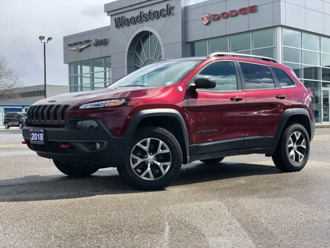 2018 Jeep Cherokee TRAILHAWK PLUS SUV