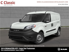 New 2019 Ram ProMaster City TRADESMAN CARGO VAN Cargo Van for sale in Clearfield, PA