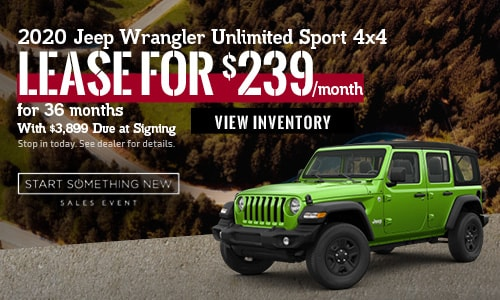January 2020 Jeep Wrangler