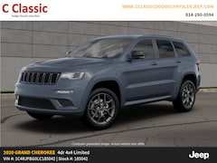 New 2020 Jeep Grand Cherokee LIMITED X 4X4 Sport Utility for sale in Clearfield, PA