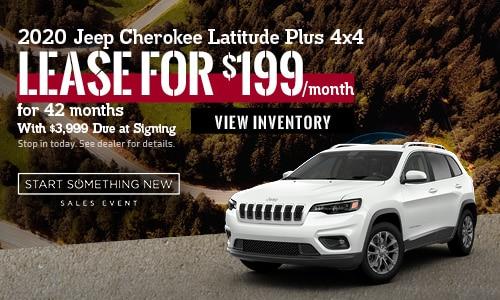January 2020 Jeep Cherokee