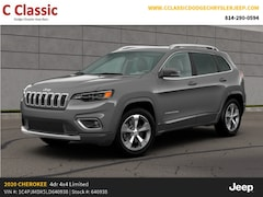 New 2020 Jeep Cherokee LIMITED 4X4 Sport Utility SUV for Sale in Clearfield, PA