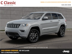 New 2020 Jeep Grand Cherokee ALTITUDE 4X4 Sport Utility for sale in Clearfield, PA