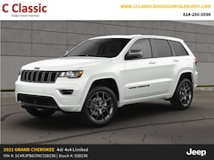 New 2021 Jeep Grand Cherokee 80TH ANNIVERSARY 4X4 Sport Utility for sale in Clearfield, PA