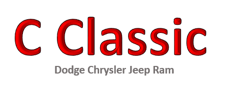 C Classic Dodge Chrysler Jeep