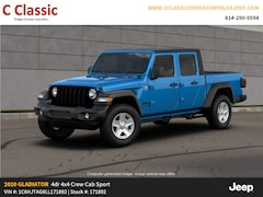New 2020 Jeep Gladiator SPORT S 4X4 Crew Cab for sale in Clearfield, PA