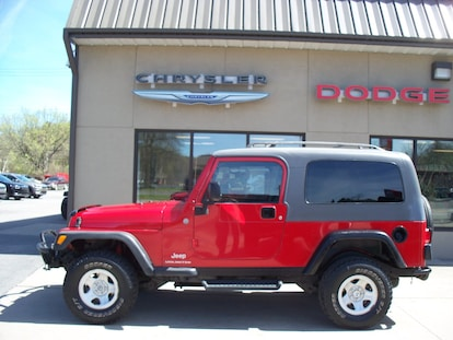 Used 2004 Jeep Wrangler Unlimited For Sale | Clearfield PA | VIN