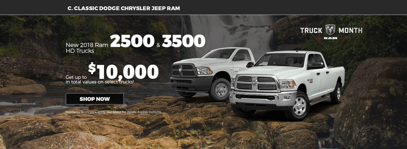 Clearfield Dodge Chrysler Jeep RAM | C. Classic New & Used Car ...