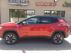 New 2018 Jeep Compass TRAILHAWK 4X4 Sport Utility for sale in Clearfield, PA