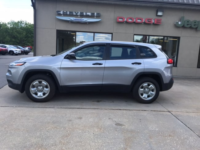 Used 2014 Jeep Cherokee Sport 4x4 SUV for sale in Clearfield, PA