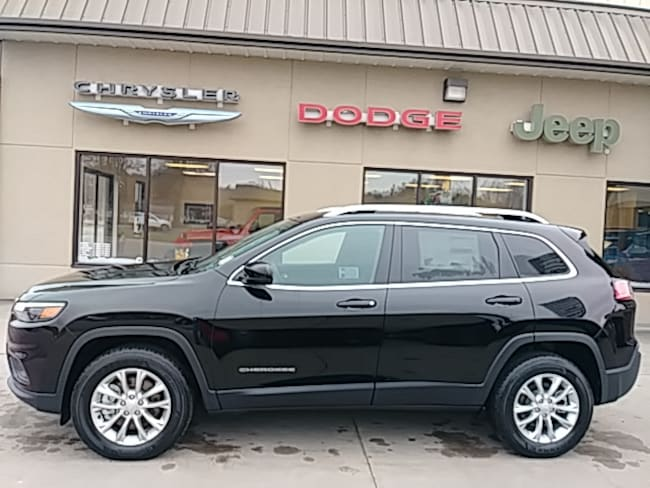 New 2019 Jeep Cherokee LATITUDE 4X4 Sport Utility for sale in Clearfield, PA