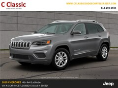 New 2020 Jeep Cherokee LATITUDE 4X4 Sport Utility SUV for Sale in Clearfield, PA