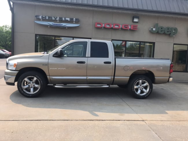 Used 2007 Dodge Ram 1500 SLT/TRX4 Off Road/Sport Truck Quad Cab for sale in Clearfield, PA