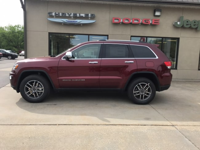 New 2019 Jeep Grand Cherokee LIMITED 4X4 Sport Utility for sale in Clearfield, PA
