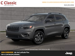 New 2020 Jeep Cherokee ALTITUDE 4X4 Sport Utility for sale in Clearfield, PA