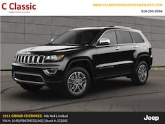New 2021 Jeep Grand Cherokee LIMITED 4X4 Sport Utility for sale in Clearfield, PA