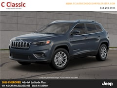 New 2020 Jeep Cherokee LATITUDE PLUS 4X4 Sport Utility SUV for Sale in Clearfield, PA