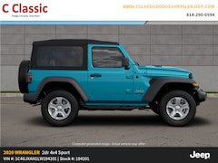 New 2020 Jeep Wrangler SPORT S 4X4 Sport Utility for sale in Clearfield, PA