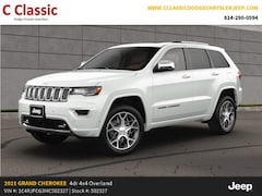 New 2021 Jeep Grand Cherokee OVERLAND 4X4 Sport Utility for sale in Clearfield, PA