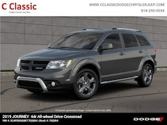 New 2019 Dodge Journey CROSSROAD AWD Sport Utility SUV for Sale in Clearfield, PA