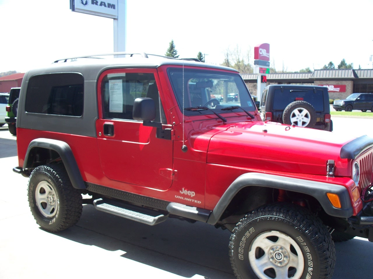 Used 2004 Jeep Wrangler Unlimited For Sale | Clearfield PA