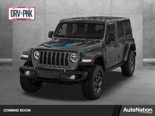 2021 Jeep Wrangler 4xe Unlimited Sahara SUV for sale in Bellevue