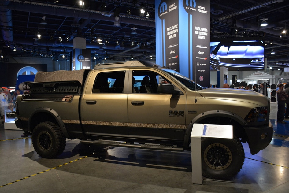 Auto Nation Roseville >> Mopar at SEMA Show 2014 | AutoNation Chrysler Dodge Jeep RAM Roseville