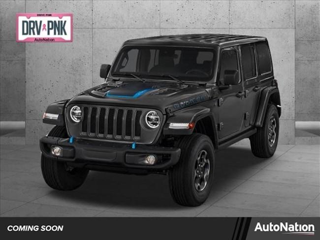 2021 Jeep Wrangler 4xe WRANGLER SAHARA 4xe SUV