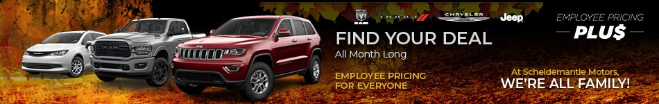 November | Find Your Deal All Month Long