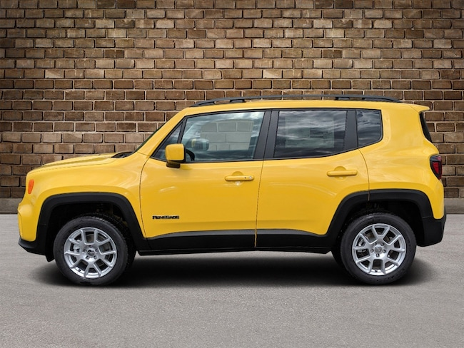 New 2019 Jeep Renegade LATITUDE 4X4 Sport Utility in Hermitage