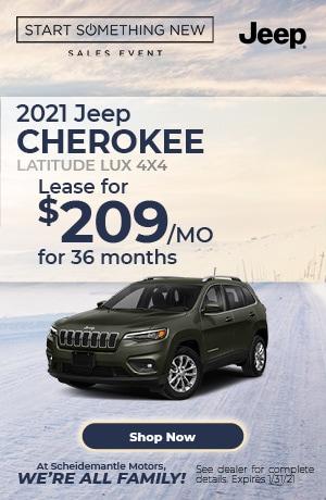 January | 2021 Jeep Cherokee | Special
