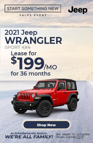 January | 2021 Jeep Wrangler | Special