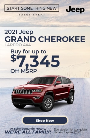 January | 2021 Jeep Grand Cherokee | Special