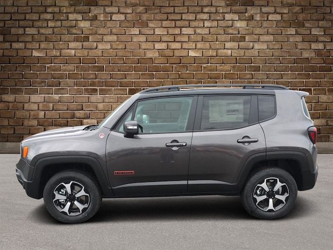 New 2019 Jeep Renegade TRAILHAWK 4X4 Sport Utility in Hermitage