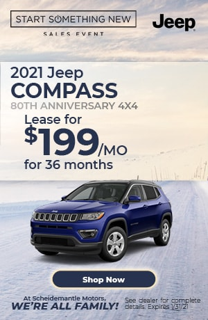 January | 2021 Jeep Compass | Special