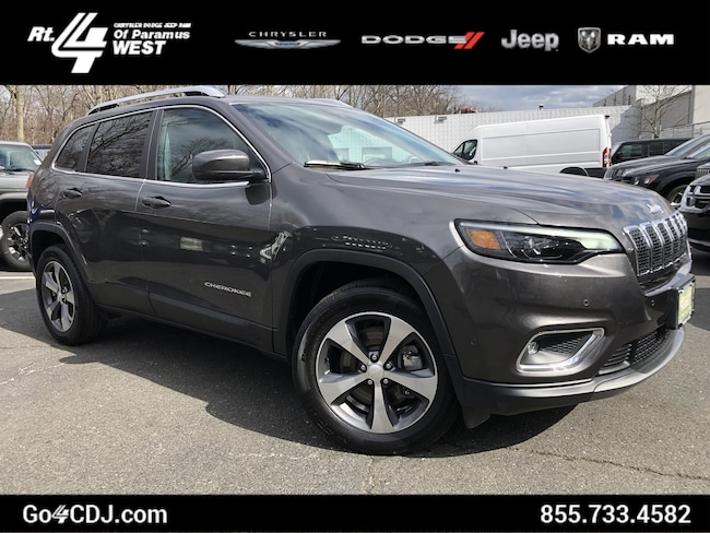 2019 Jeep Cherokee Limited 4-CYL 4WD SUV Limited 4x4