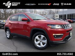 2018 Jeep Compass Latitude 4-CYL 4WD SUV Latitude 4x4