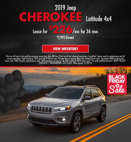 November 2019 CherokeeOffer