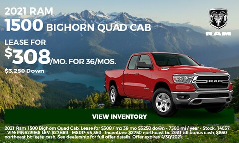 2021 Ram 1500 Bighorn Quad Cab