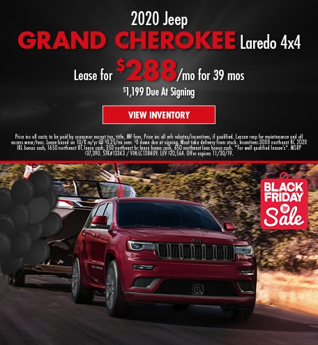 November 2020 Grand Cherokee Offer