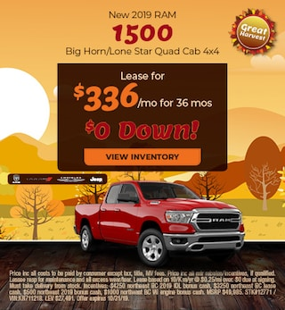 October 2019 Ram 1500 Lease
