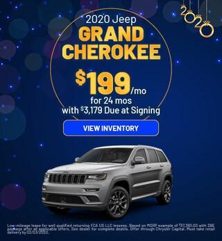 January 2020 - Grand Cherokee Offers
