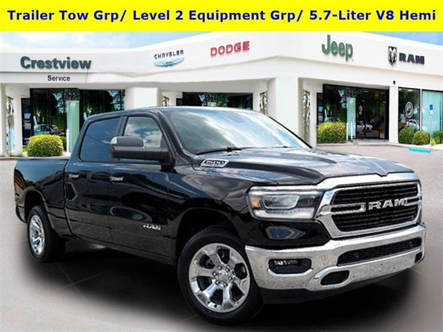 Featured new vehicles 2019 Ram All-New 1500 BIG HORN / LONE STAR CREW CAB 4X2 6'4 BOX Crew Cab for sale near you in Fort Walton Beach, FL