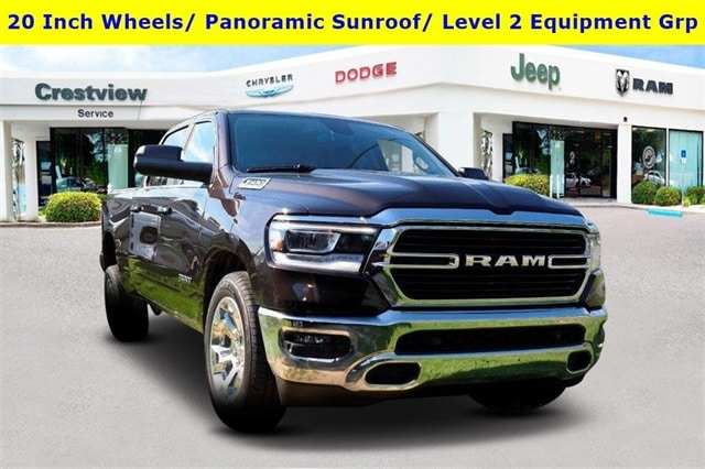 Featured new vehicles 2019 Ram All-New 1500 BIG HORN / LONE STAR CREW CAB 4X4 6'4 BOX Crew Cab for sale near you in Fort Walton Beach, FL