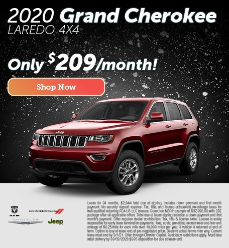 2020 Grand Cherokee Lease